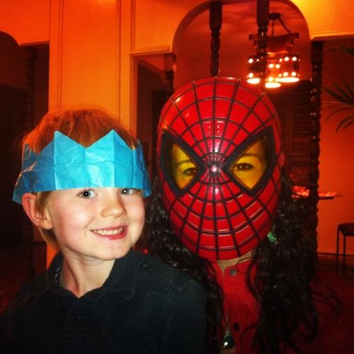 Beth & her nephew Christmas Eve