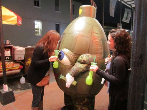 then we saw a hand grenade